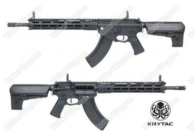 KRYTAC Full Metal Trident 47 SPR M-LOK Airsoft AEG Rifle - Black