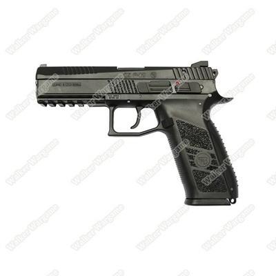 KJ Works CZ-75 P-09 Duty Airsoft CO2 Blow Back Pistol - Black