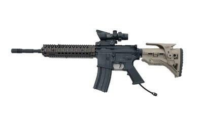 HPA Gas Airsoft - Polarstar Gen3 Fusion Engine M4 RIS 10Inch Long Barrel