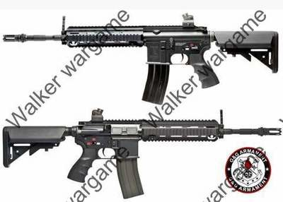 G&G HK418 Top Tech Airsoft Full Metal Rifle Electric Blowback