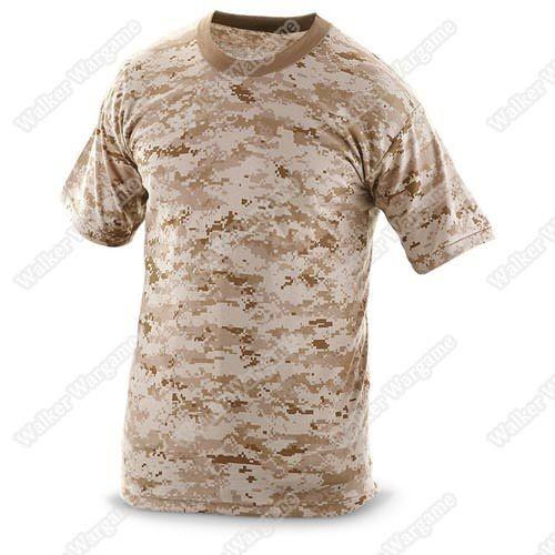 Camo Shirts -- US Marine Digital Desert