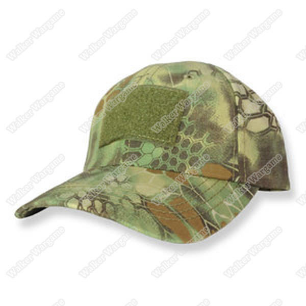 Operator Cap Velcro Flag Blood Patch - 21th Century New Special Force MR Camo (Mandrake Camo)
