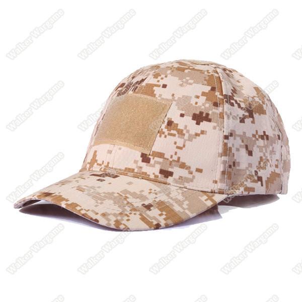 Operator Cap Velcro Flag Blood Patch - US Marine Digital Desert
