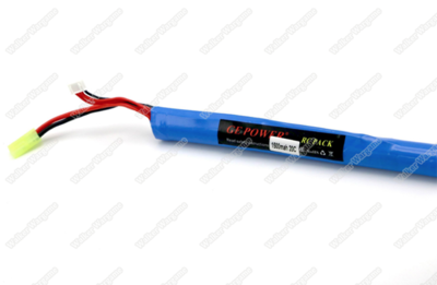 GE Power Lipo battery 11.1V 1500MAH 20C RC Airsoft Gun Battery Long Type (Deans And Tamiya Connect)