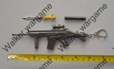 Miniature Gun - FN Scar Rifle