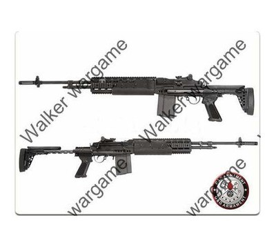 G&G M14 EBR Full Metal Sniper Rifle Full RIS Rail AEG _ Long Type