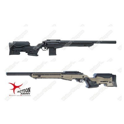 Action Army AAC T10 Tactical VSR10 Bolt Action Spring Power Sniper Rifle