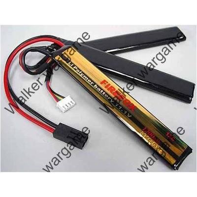 3P FireFox 3 Cell 11.1V 1200mah 12C LiPo Battery