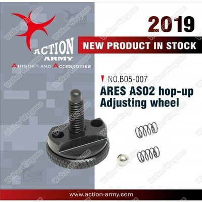 Action Army ARES Striker AS01 AS02 Sniper Hopup Adjustment Wheel - CNC Aluminium