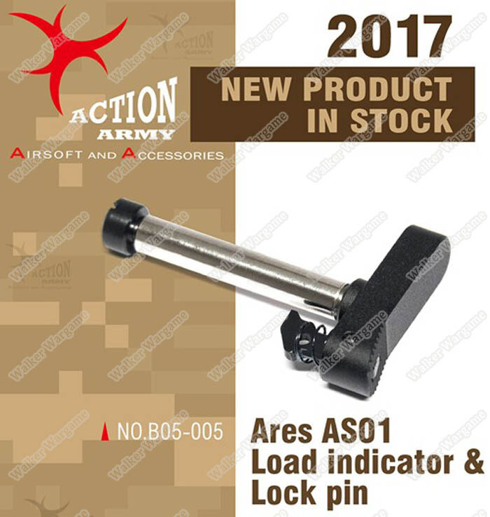 Action Army ARES Striker AS01 Rifle Load Indicator and Lock Pin