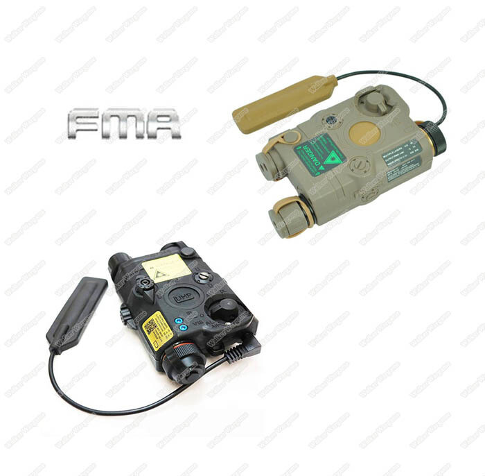 FMA PEQ LA5-C LED White light + Red laser with IR Pointer
