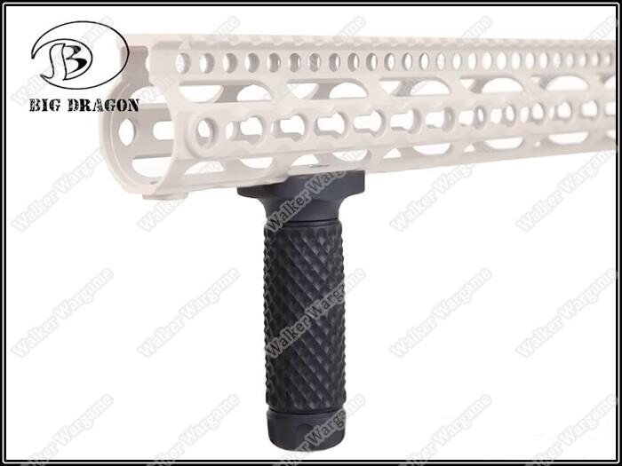 BD Keymod System Golf Ball Pattern Long Grip - Black