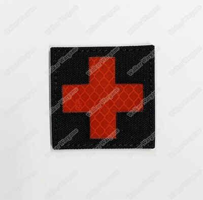 LWG006 Medic Red Cross - Laser Cut Patch With Velcro