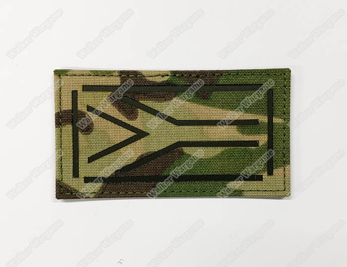 LWG007 RSA Flag Multicam - Laser Cut Patch With Velcro