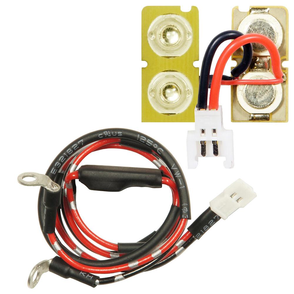 Dual UV LED Boards And Module Set (For MAXX ME/MI Hopup Series)