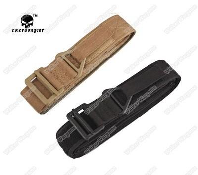 Tactical Emerson Belt CQB Emergency Rescue Rigger - Black, Tan