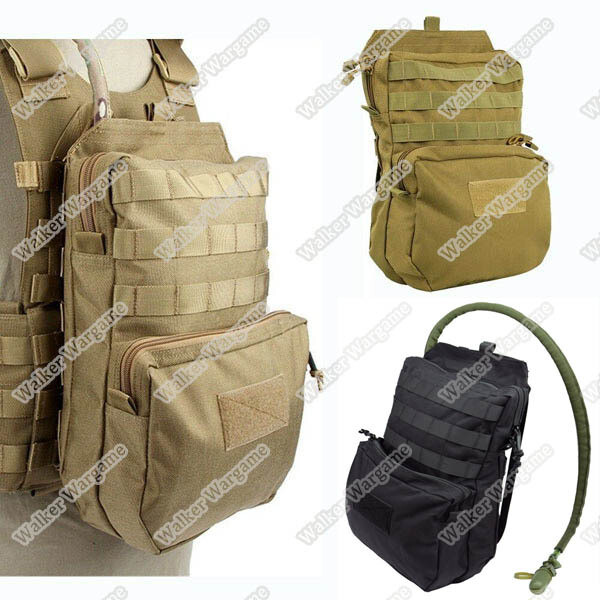 Tactical Molle Big Back Bag Hydration Water Reservoir Backpack Bag