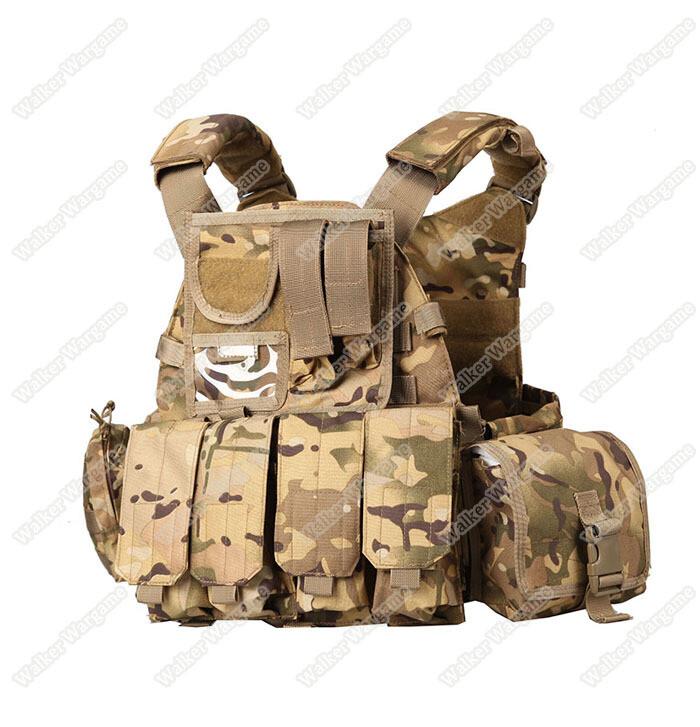US Navy Seals 6094 VT089 Tactical Molle LBT Vest - Multicam