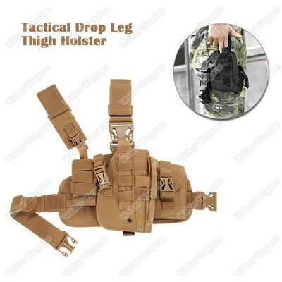 Tactical Module Drop Leg Pistol Holster - Multi Color