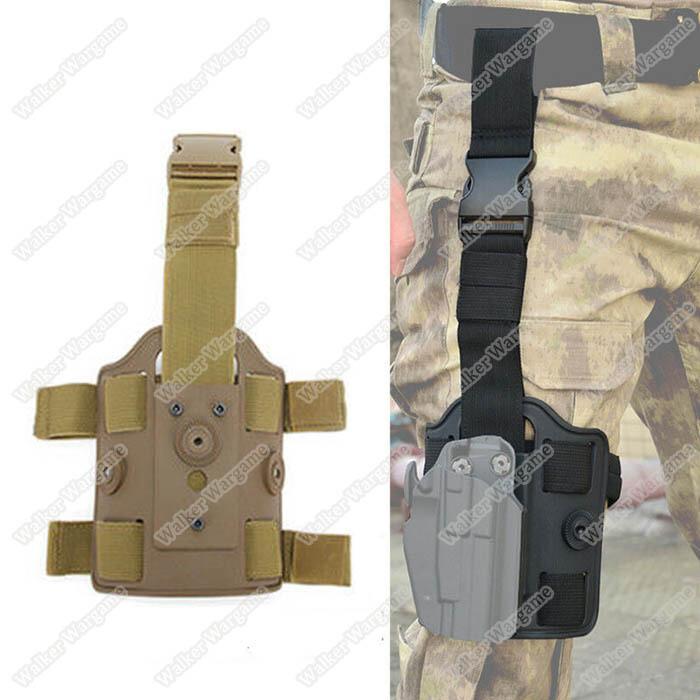 Tactical Drop Leg Mag Holster Panel Leggings Device Dual Strap Thigh Holster Bag Pouch Leg Pistol Holster