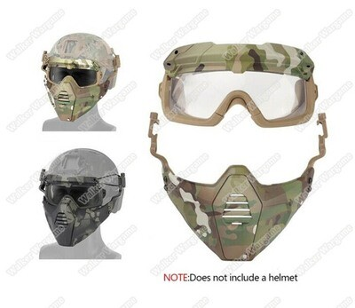 FMA SF Goggle and Face Protect System