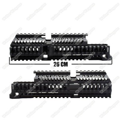 AK47 Tactical Handguard Rail - Black
