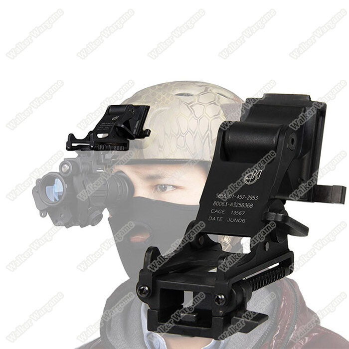 Helmet Mount For Pulsar Night Vision Goggle Fit Fast, Mich ,M88 Helmet
