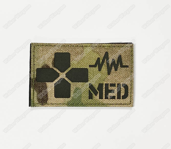 LWG030 Tactical Medical Multicam - Laser Cut Patch With Velcro