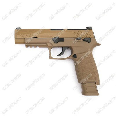 ETA Aug 2020 - WE Tech SIG P320 M17 Green Gas GBB Pistol F17 - Tan