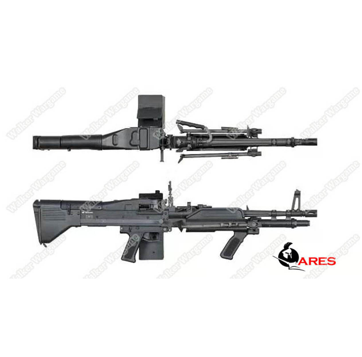ETA July 2020 - Ares M60 Heavy Machine Gun HMG AEG Airsoft
