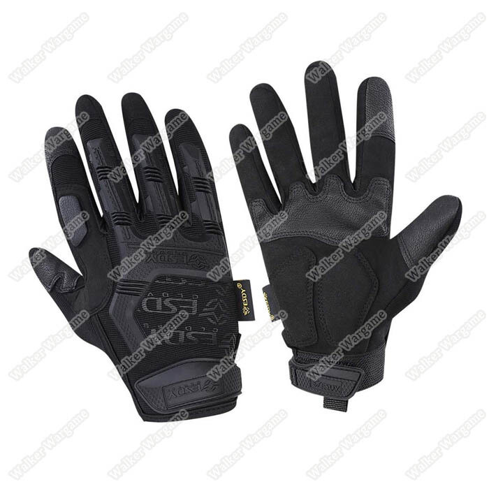 ESDY MPact Tactical Full Finger Gloves - Black