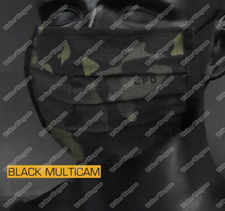 Pre Order ETA - June Tactical Anti Epidemic Face Mask - Black Multicam  ( Protect Against COVID19 )