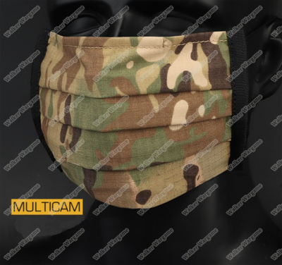 Pre Order ETA June - Tactical Anti Epidemic Face Mask - Multicam  ( Protect Against COVID19 )