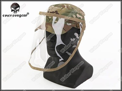 ETA - June 2020 Emerson Kids Combat Cap With Face Shield - US Army Multicam
