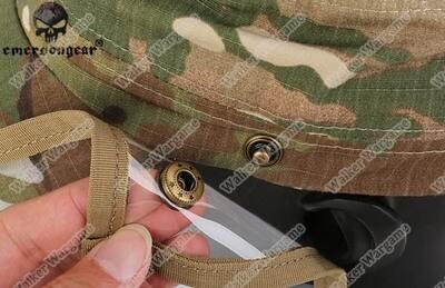 ETA - June 2020 Emerson Baseball Cap With Face Shield - US Army Multicam
