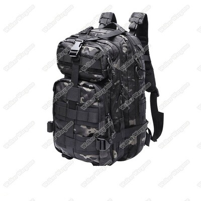 Gen2 3P Molle Assault Backpack Bag 30L - Multicam Black / Multicam Tropic
