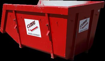 Open 10m3 Container voor C-hout