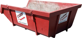 Open 6m3 Container voor Grofvuil