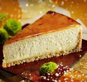 1 Slice Creme Brulee Cheesecake
