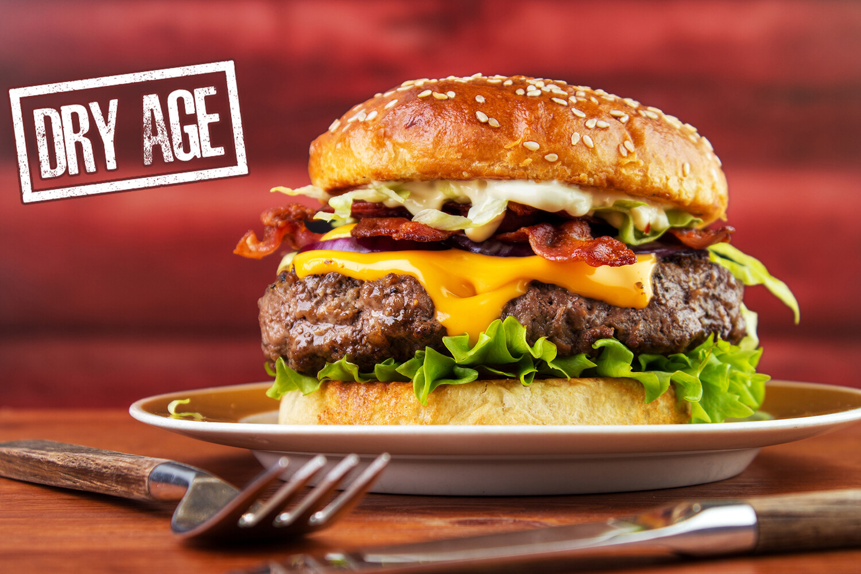 2/8oz Dry Aged Prime Steak Burgers