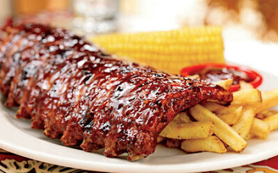 6 Racks All Natural Imported Danish Baby Back Ribs WIDE Online Only