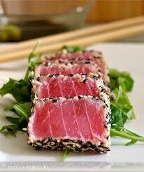 Ahi Seared Tuna Slices