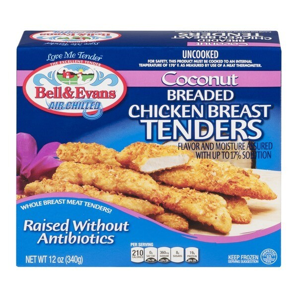 Bell & Evans Coconut Breaded Chicken Tenders