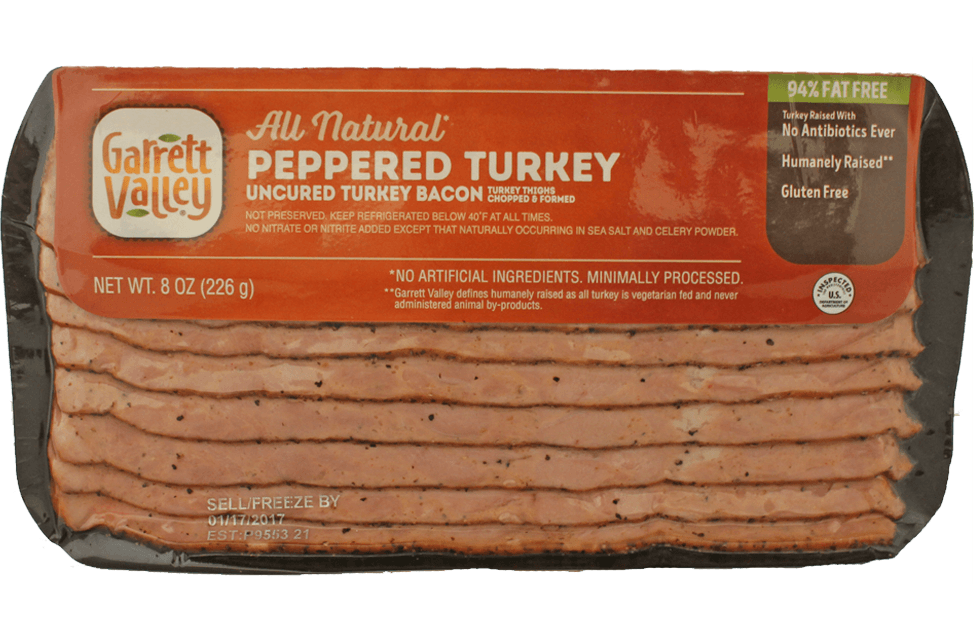 All Natural Peppered Turkey Bacon