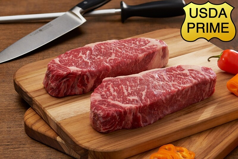 12oz Prime Center Cut NY Strip Steak