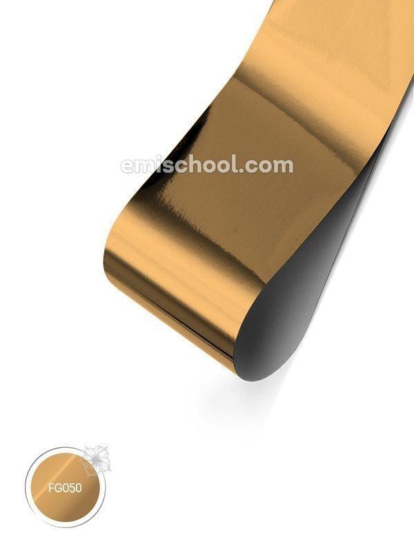 "Läikiv Foolium ""Champagne Gold"", 1.5 m"