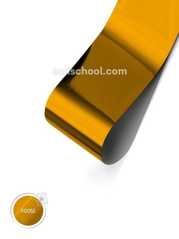 "Läikiv Foolium ""Pure Gold"", 1.5 m"