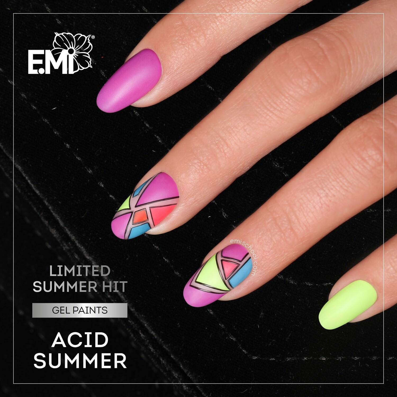 """Geelvärvide komplekt """"Acid Summer"""""""