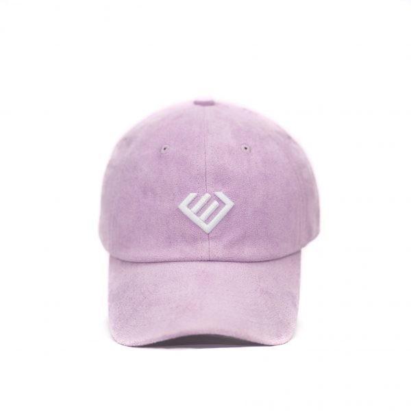 Euphoria - Light Purple Suede Dad Hat