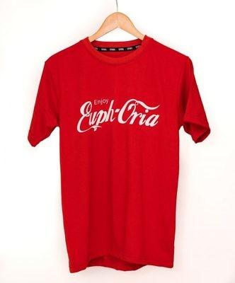 "Euphoria - ""Enjoy Euphoria"" Red Tee"